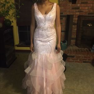 Dresses & Skirts - Blush pink prom dress/ pageant dress
